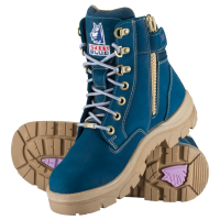 LAST 3! LIMITIED EDITION Steel Blue Zip Southern Cross Boot