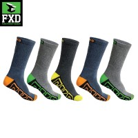 FXD SK-1 5 pack of Long Work Socks
