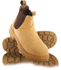 Steel Blue Hobart Elastic Sided Boot Wheat